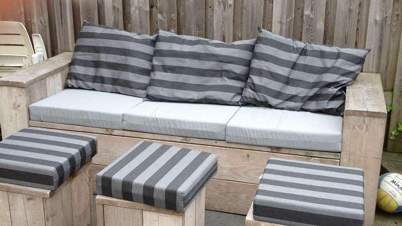 Lounge Kussens Buiten : Loungekussens u meubelstoffeerderij peters